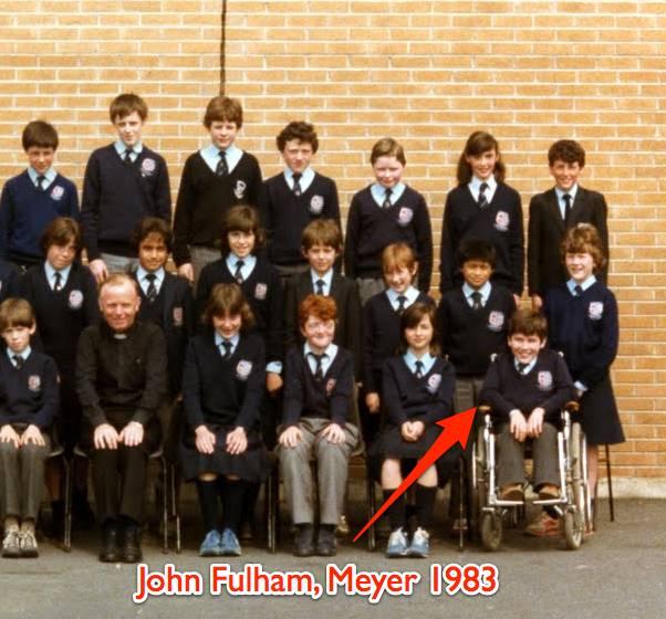 John Fulham in 1984