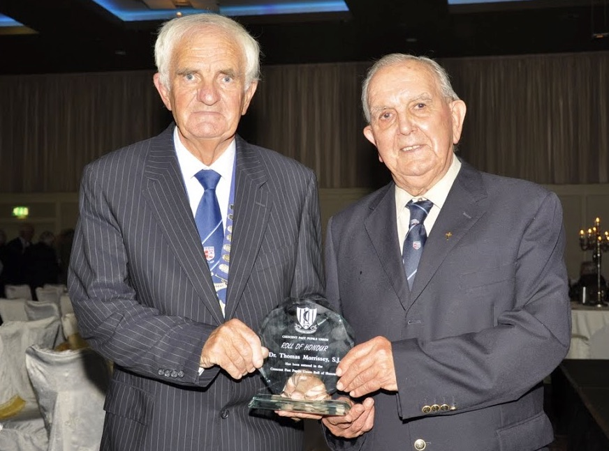 Dr. Thomas Morrissey SJ Roll of Honour Award 2015