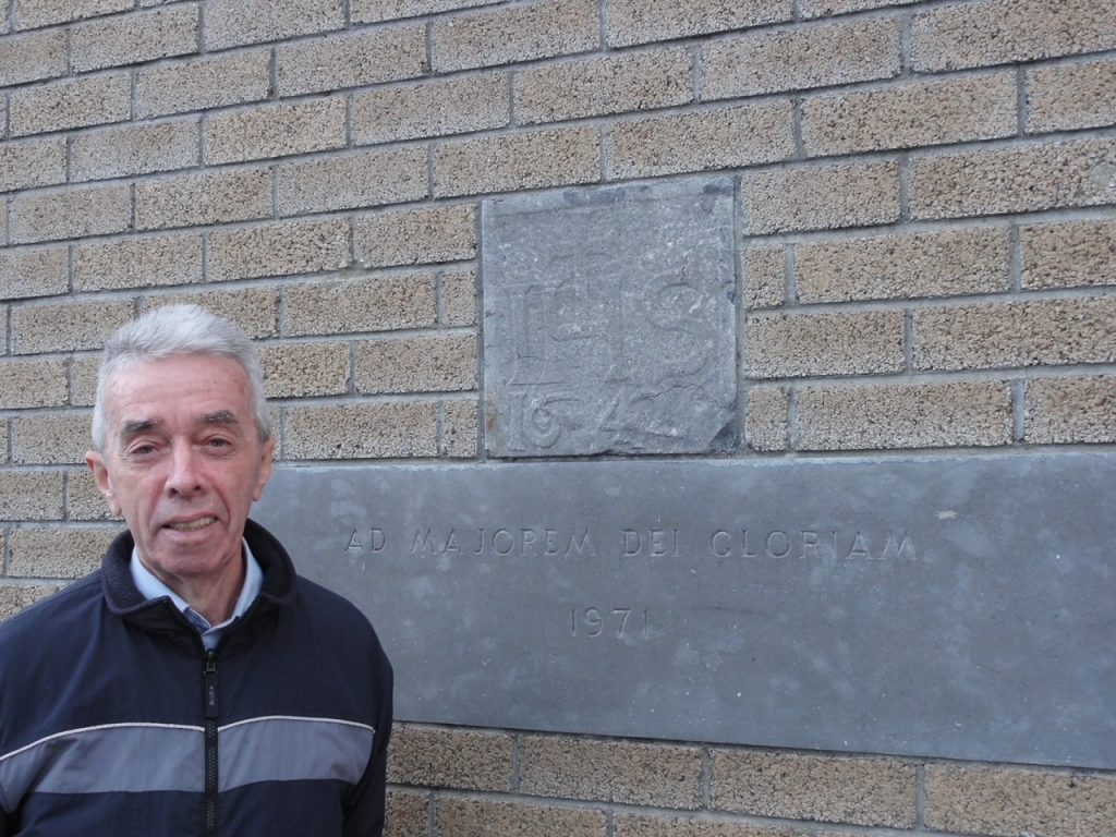 Fr Sean Coghlan SJ outside CCC in 2010